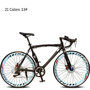 cheap Bikes-Road Bike Cycling 7 Speed 26 Inch / 700CC SHIMANO TX30 Double Disc Brake Ordinary Monocoque Ordinary / Standard Aluminium Alloy