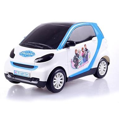elektriska leksaker för barn gullig tecknad batteri fungerar bil med musik och blinkande ljus (no.207)