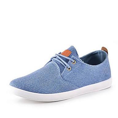 férfi cipők kerek toe lapos sarkú cipők vászon divat cipő több színben  kapható 2605787 2019 –  24.99 633ef26827