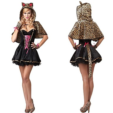 leopard kostume til kvinder