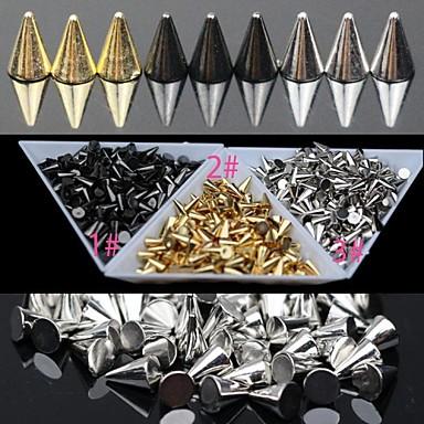 30 pcs Metall Nagelsmycken Till finger nagel konst manikyr Pedikyr Punk / Nail Smycken