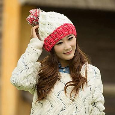 sombrero colorido del ocio del bromista corea del sur gorro de lana tejido  de punto (color clasificado) 2642781 2019 –  9.44 4576d089cad