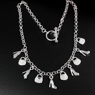 Dam Uttalande Halsband Statement Sterlingsilver Silver Halsband Smycken Till