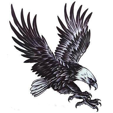 1 pcs tillfälliga tatueringar Högupplöst / Miljövänlig / Professionell Kropp / skuldra / tillbaka Vattenöverföringsklistermärke Tatueringsklistermärken / Tattoo Sticker