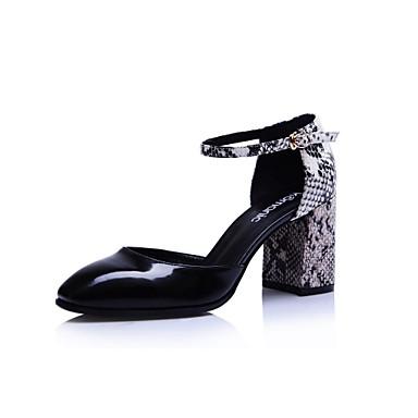Femmes Sandales Carré Chunky Talons Komanic Bout Pour Chaussures À EH92DIW