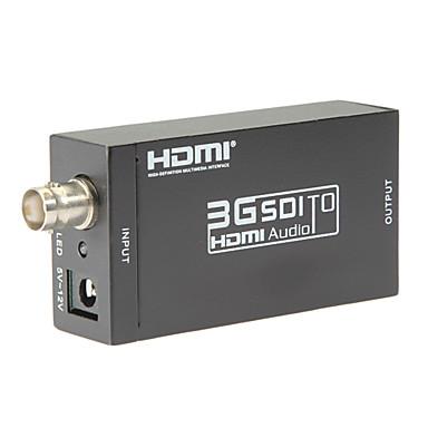 SDI till HDMI converter sd-SDI HD-SDI 3g-SDI till HDMI-adapter stöder 720p 1080p