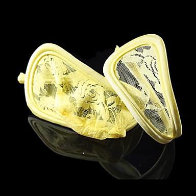 sexig gul blomma ros spetsar g-string c string underkläder för män kvinnor  par svit (uppsättning av två) 2674002 2019 –  9.44 8936ba3e89361