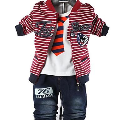 gyermek ruházat fiúk három darab állítja baba beállított fiú öltöny póló és  kabát nadrág 2555648 2019 –  55.84 12047da683