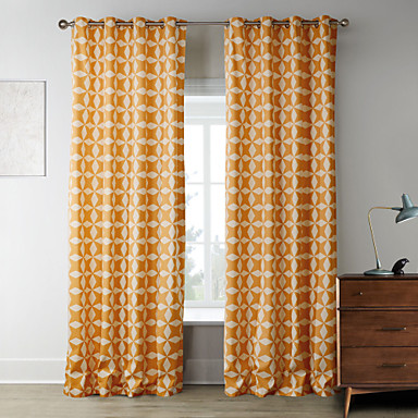 Rod Pocket Grommet Top Tab Top Double Pleated Two Panels Curtain Designer  Bedroom Polyester Material Home Decoration For Window 2578970 2017 U2013 $33.59