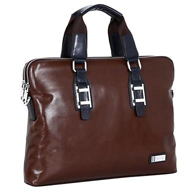 3d9bb9408f férfi sokoldalú szilárd valódi bőr aktatáska cipel laptop táska 2588810  2019 – $79.99
