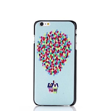 För iPhone 6-fodral   iPhone 6 Plus-fodral Mönster fodral Heltäckande  fodral Ballong Hårt PC iPhone 6s Plus 6 Plus   iPhone 6s 6 2600019 2019 –   2.09 22fc3b7508acb