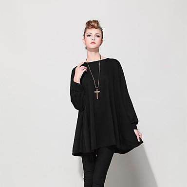 27efda9d54 luźne bawełniane kobieca sukienka z dzianiny dla puszystych 2576606 2019 –   50.89