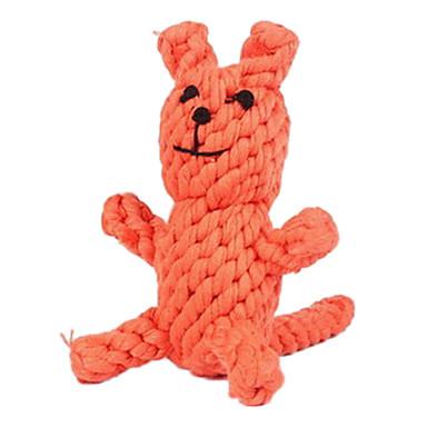 Boll Tuggleksaker Interaktiv leksak Hundleksak Husdjur Leksaker Rep Räv Textil Present