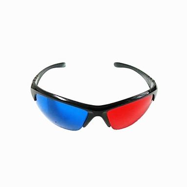 réutilisables en plastique résine cadre anaglyphe lentilles bleu + rouge  film en 3D des lunettes spéciales de 2708910 2018 à  1.99 9e3c4682f2ae
