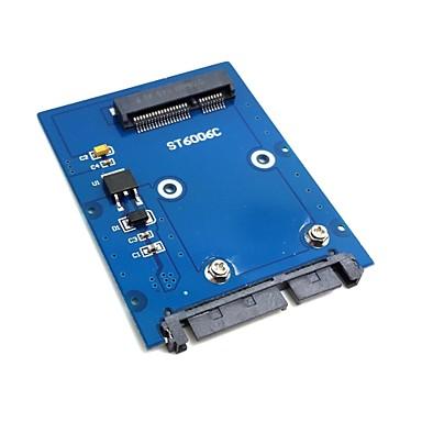 slim typ mini pci-e mSATA SSD till 2,5