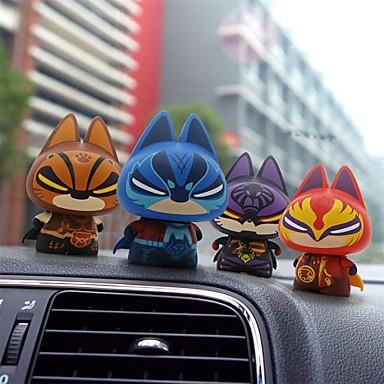 zhuaimao® actionfigur action leksaksfigurer superhjälte kreativa gåva för pojkvän heminredning bil dekoration (4st)