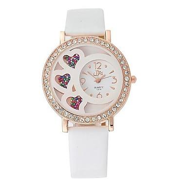 dámská móda ve tvaru srdce přesýpací hodiny konstrukce kruhového vytočit PU  kůže pásek Náramkové hodinky (různé barvy) 2846845 2019 –  11.99 ada9d943e8