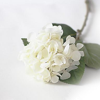 Białe Hortensje Syrenka Sztuczne Kwiaty Zestaw 2 2870544 2019 719