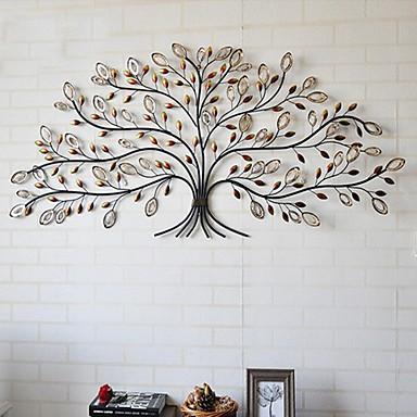 E-HOME® Metal Wall Art Wall Decor, Tree Pattern Wall Decor One PCS ...