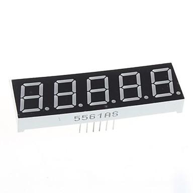 kompatibel (för Arduino) 5-siffrig display modul - 0.56in.
