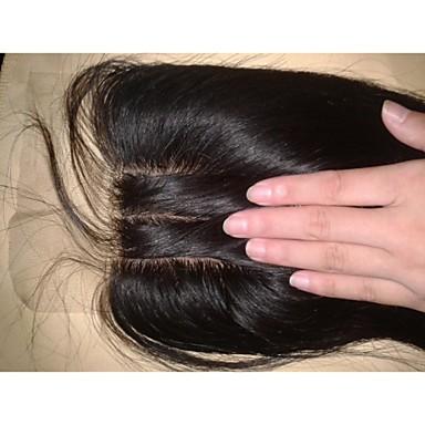povoljno Ekstenzije od ljudske kose-Žene - Ugradnja umetaka - Egyenes Smeđa , Ljudske kose)