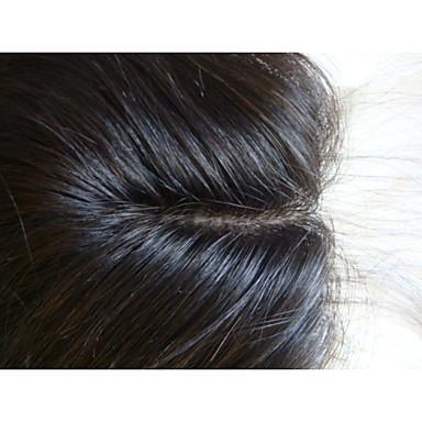 povoljno Ekstenzije od ljudske kose-PANSY Proširenja ljudske kose Ravan kroj Ljudska kosa Malezijska kosa Smeđa Žene Prirodna crna