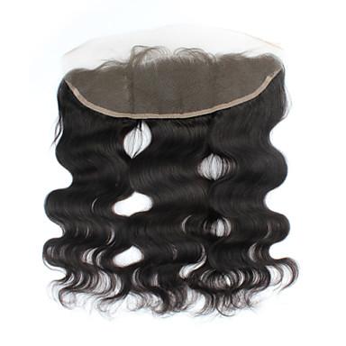 povoljno Ekstenzije od ljudske kose-PANSY Klasika Tijelo Wave Lace Front Švicarska čipka Ljudska kosa Besplatno dio Središnji dio 3. dio Visoka kvaliteta Dnevno