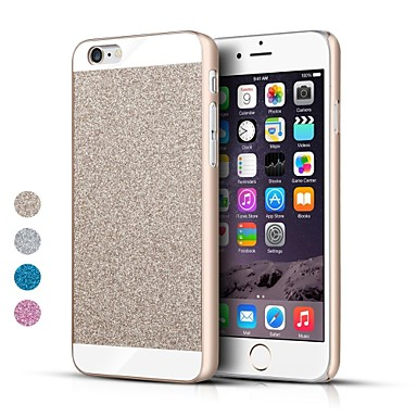 fodral Till Apple iPhone 6s Plus / iPhone 6s / iPhone 6 Plus Skal Glittrig Hårt Metall