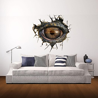Merveilleux 3D Wall Stickers Wall Decals, Monster Eye Decor Vinyl Wall Stickers 2846202  2018 U2013 $16.99