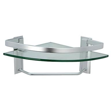 glashylde badeværelse aluminium badeværelse glashylde hjørne med håndklæde bar vægbeslag  glashylde badeværelse