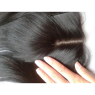 povoljno Ekstenzije od ljudske kose-PANSY Proširenja ljudske kose Ravan kroj Ljudska kosa Kose za kosu Malezijska kosa Smeđa Žene Prirodna crna