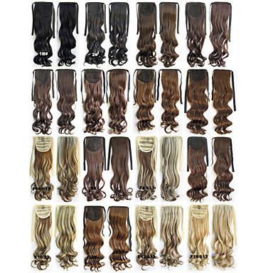 levne Culíky-Culíky a copy Hair kus Prodlužování vlasů Denní / Přírodní vlny / Vlnité / Kinky Curly / Plovoucí vlny / Kudrny