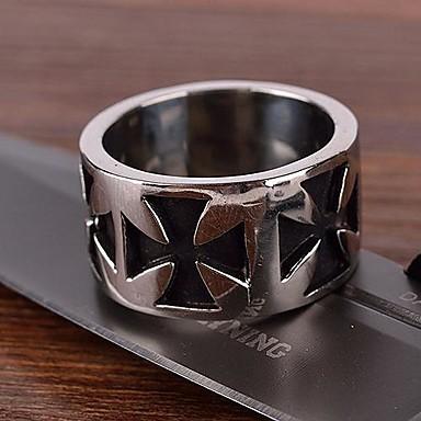 Ringar (Rostfritt Stål/Titanium)till Herr i Vintage/Party/Casual stil