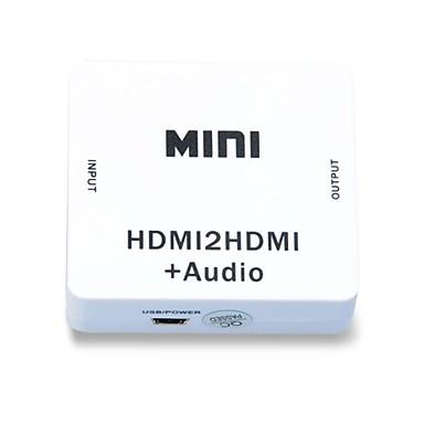 1080p hdmi Audio Extractor splitter hdmi 1.4 digital till analog 3.5mm ut ljudadapter