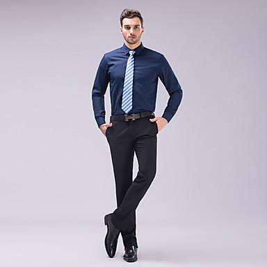 Alla Moda Classico Essenziale Tinta Uomo Per Unita Camicia oexBdC
