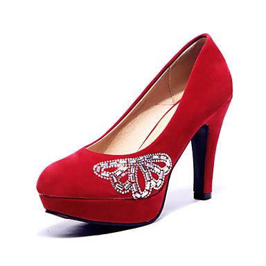 Női - Magassarkú   Kényelmes - Esküvői cipők - Magassarkú - Esküvői    Szabadidős   Irodai   Ruha   Alkalmi - Fekete   Kék   Sárga   Lila 3026049  2018 – ... 82695a161c