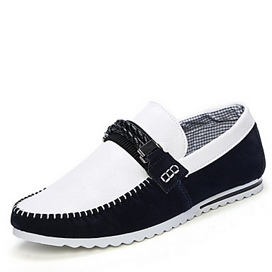 De Azul Casual Hombre Mocasines Negro Marino Zapatos Rojo Tela RHAw7qfWd