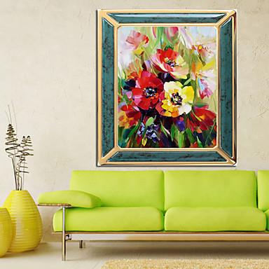 Kolay çiçek Boyama Patchwork Salon Elmas çapraz Dikiş Dikiş Duvar Ev
