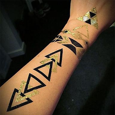399 1 Pcs Tatuaże Tymczasowe Wodoodporny Nietoksyczne Duży Rozmiar Papier Naklejki Z Tatuażem Wzór Hawajski Dolna Część Pleców