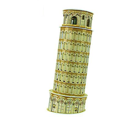 levne 3D puzzle-kutilství Torre di Pisa ve tvaru 3D puzzle