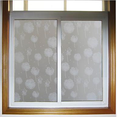 Dandelion Glass Door Sticker Window Film Stickers 10090cm