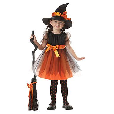Bruxa Fantasias De Cosplay Criança Dia Das Bruxas Carnaval Dia Da