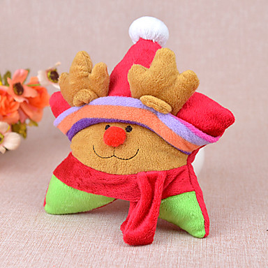 Mjukdjur Pipande leksaker Kattleksak Hundleksak Husdjur Leksaker Hållbar Textil Present