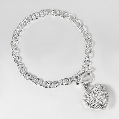 dae2443ab364 pulseras italia clave de la moda de plata 925 y el encanto de la pulsera  del diseño del corazón anclan pulsera de moda más caliente 3133052 2019 –   6.99