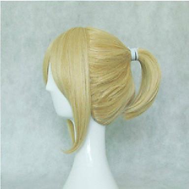 Cosplay Peruker Syntetiska peruker Kostymperuker Rak Rak Peruk Blond Blond Syntetiskt hår Dam Blond hairjoy