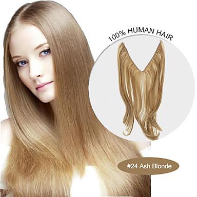 20inch 24 Cendres Des Extensions De Cheveux Halo Blond 100 Flip Humaine Dans Les Meilleure Qualite 007 3006149 2018 A