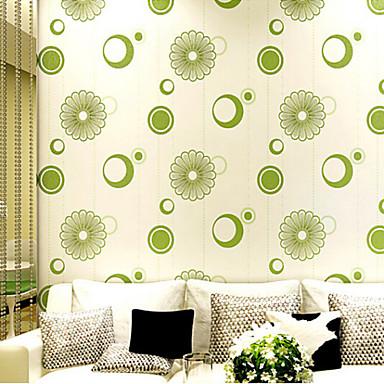 Contemporary Wallpaper Import Germany Musk 3D Flower Designs Light ...