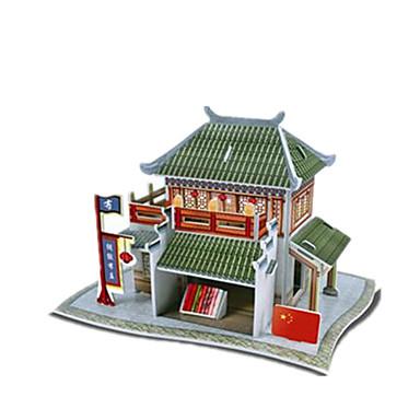 pedagogiska diy kinesisk silke butik pappersmodell