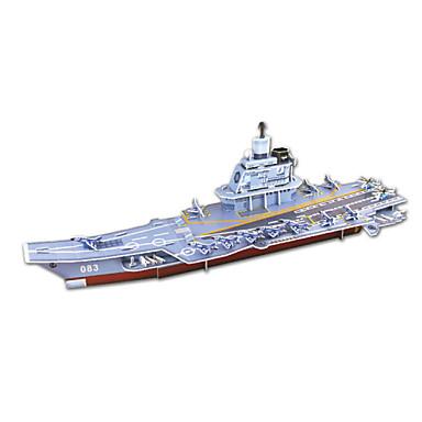 diy örlogsfartyg formad 3d pussel (8 ps)