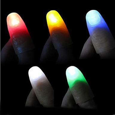 cheap Magic Tricks-Light Waving Magic Toys of Flash Nail Wrap (Random Color &1 PS)